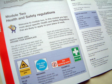 certficate in health and safety